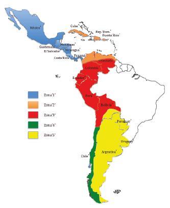 Divisin dialectal del espaol de Amrica segn sus hablantes