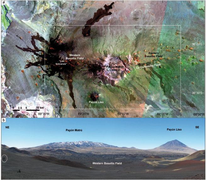 estratigraf u00eda volc u00e1nica y evidencia de mezcla de magmas en
