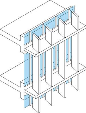 El dise o del sistema de cerramiento for Parasoles arquitectura