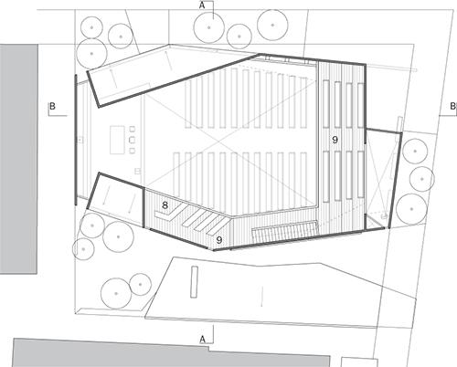 Capilla san manuel de la estrella pudahuel chile tom s for Dimensiones arquitectonicas