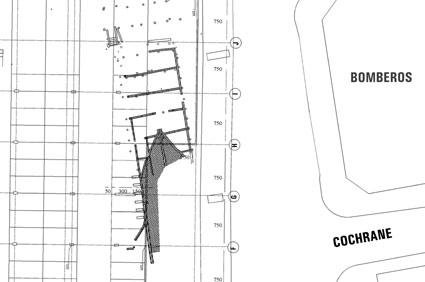Arqueolog a hist rica en la plaza sotomayor de valpara so for Ejes arquitectonicos