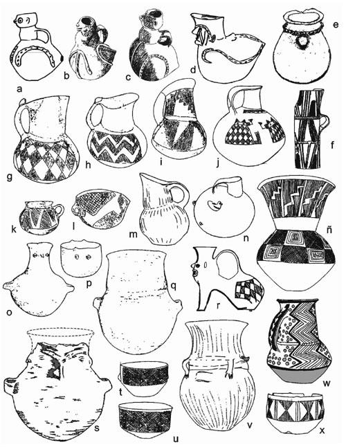 dibujos para pintar jarrones de barro dibujos de jarrones