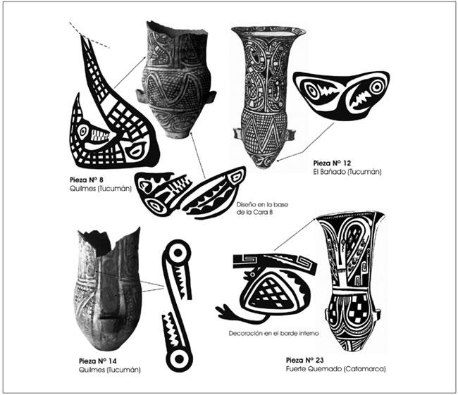 Figura 4  Representaciones Fel  Nicas Pintadas  Algunas Urnas
