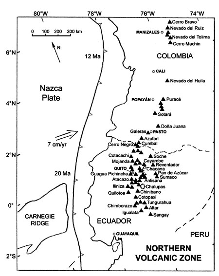 Active Andean Volcanism Its Geologic And Tectonic Setting
