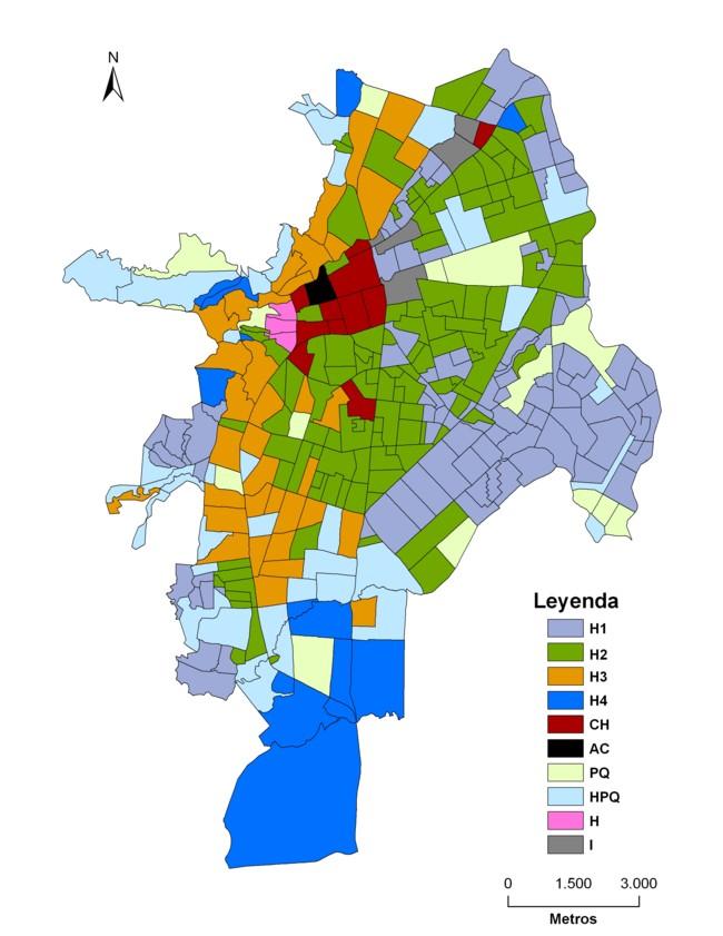 Estimaci n de un ndice de calidad ambiental urbano a for 4 usos del suelo en colombia