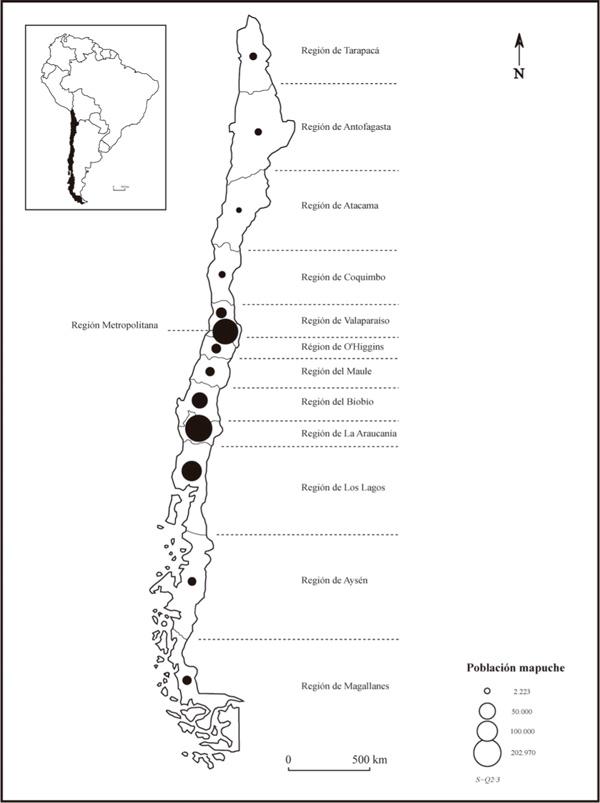 Geografas indgenas urbanas el caso mapuche en La Pintana